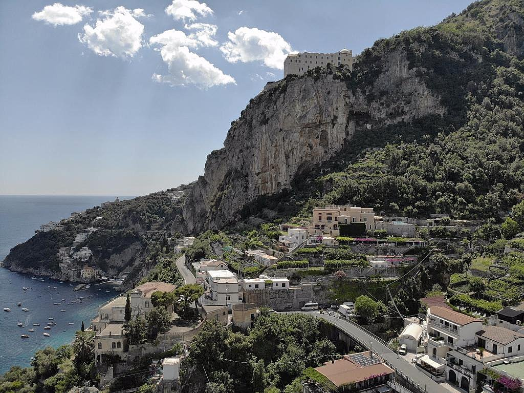 Villa Amalfi location
